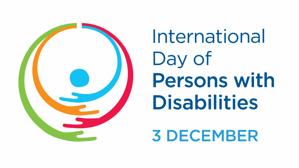 Official logo for International Day of Persons with Disabilities